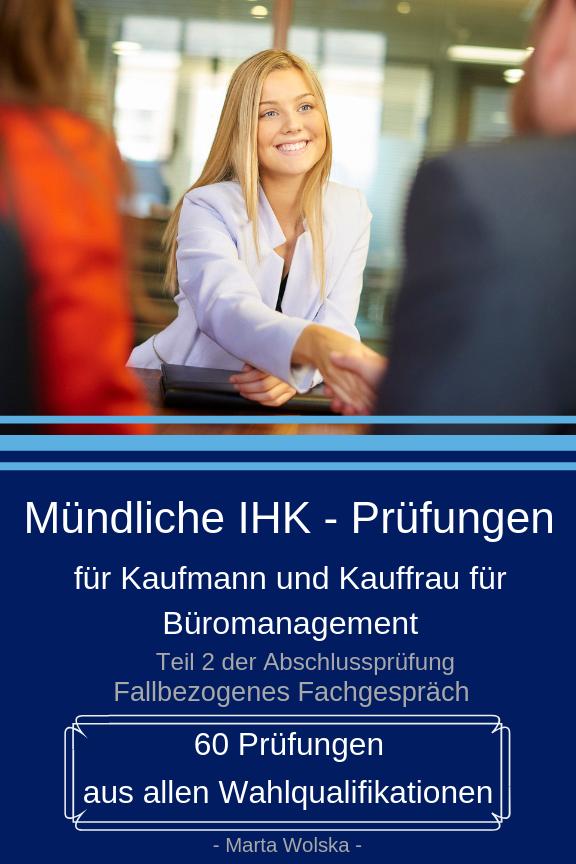 Mündliche Prüfung Büromanagement 2020