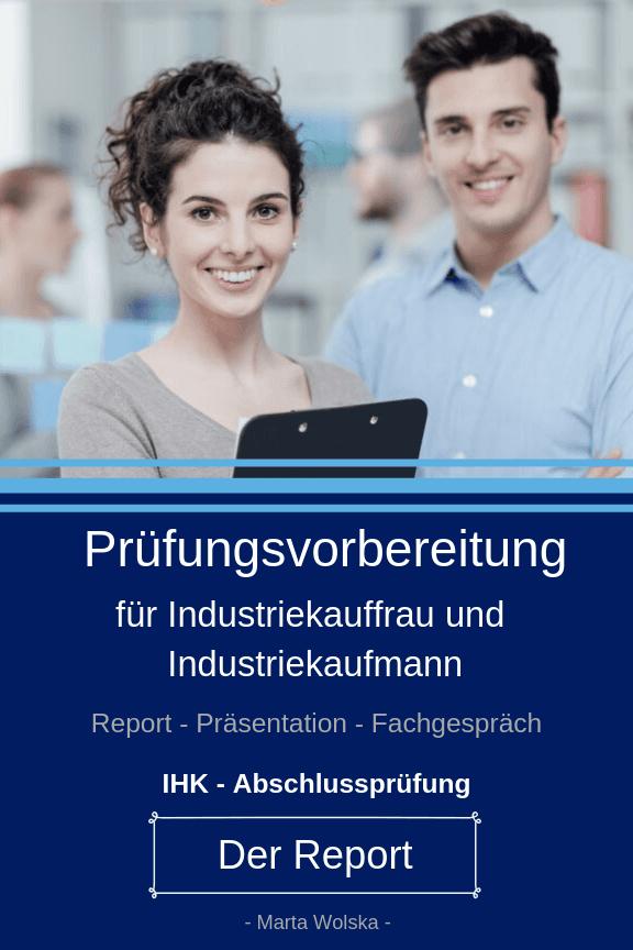 Muster Report Industriekaufmann