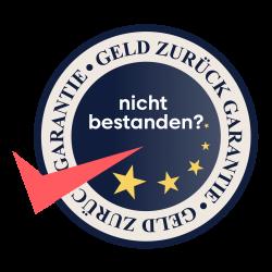 GELD ZURÜCK GARANTIE Logo design 1 -2-01